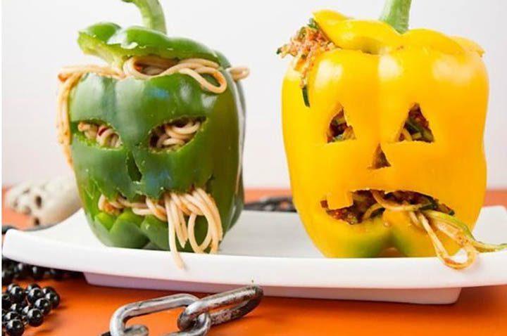 Простые и страшные блюда на Хэллоуин