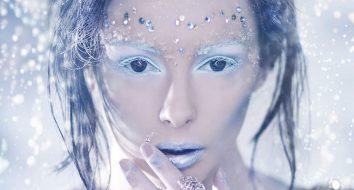 Красивый макияж на Хэллоуин своими руками