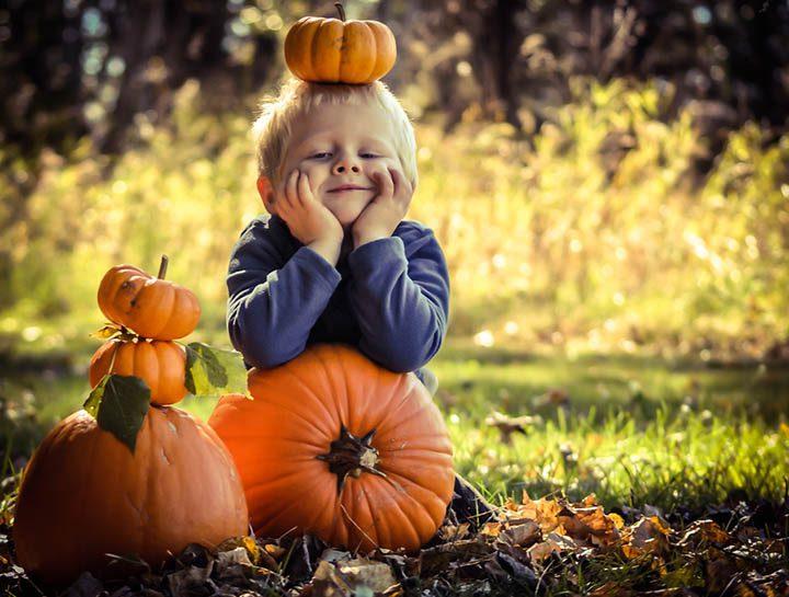 Игры для детей на Хэллоуин