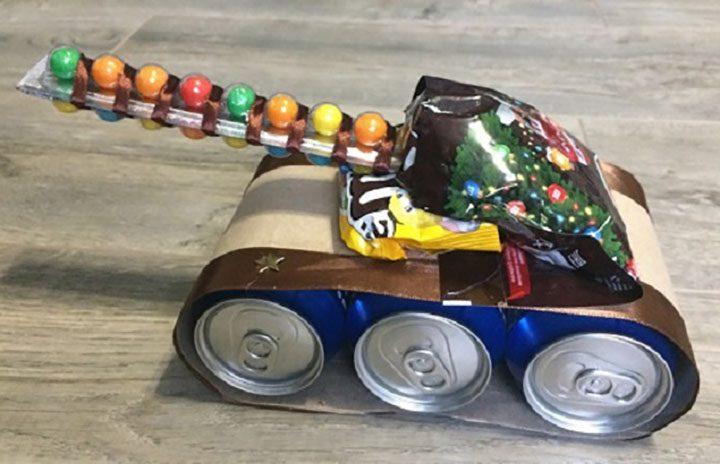 Танк из пива своими руками: из банок и бутылок