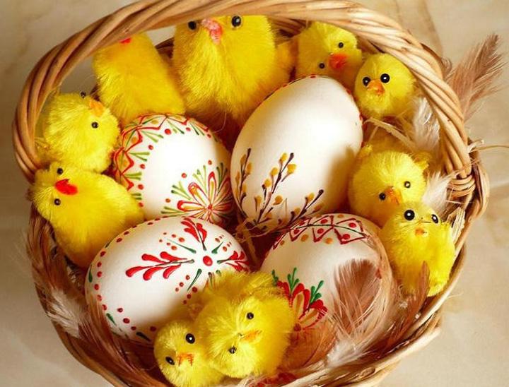 Когда святят яйца на Пасху