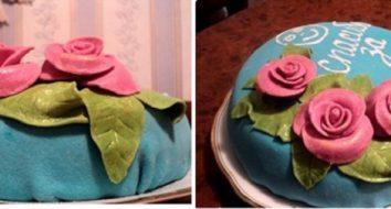 Торт на выпускной для 9 и 11 класса