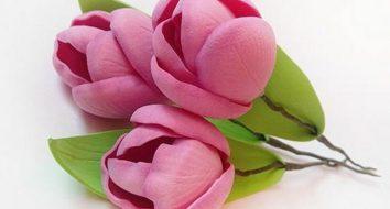 Тюльпан своими руками